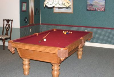 Our billard room awaits you.